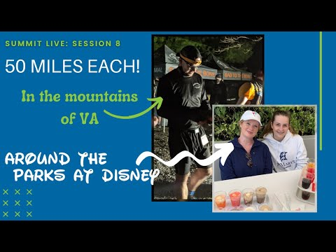 50 Miles at Disney and 50 Miles in the VA Mountains