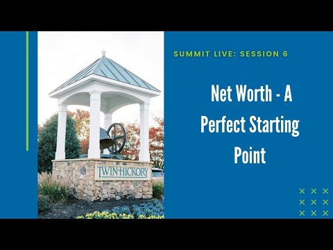 Net Worth - A Perfect Starting Point