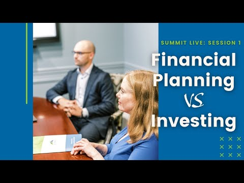 Financial Planning vs Investing... Do they work together?
