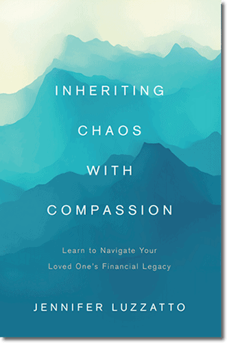 Inheriting Chaos with Compassion book cover